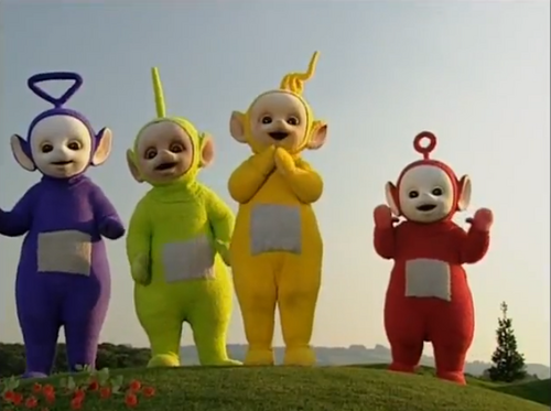 Teletubbies Cat S Night Out