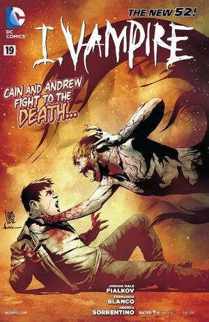 Cover for I, Vampire #19 (2013)