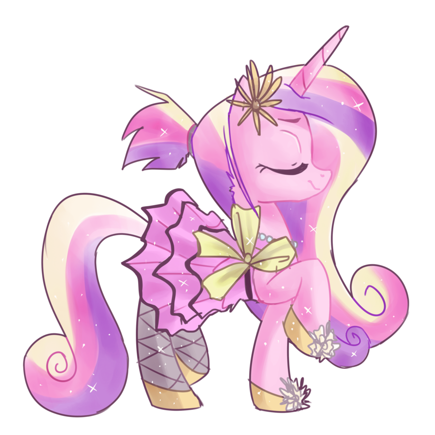 Coloring pages of princess cadence - Princess Cadence By Artist Kajitanii Png