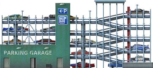 Babylon 5 Station Png Image - Parking...