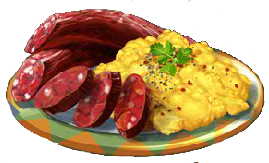 Recipe-Chorizo Breakfast Plate