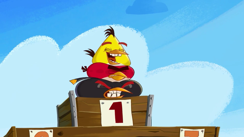 Angry Birds Go Chuck File:abf trailer chuck number