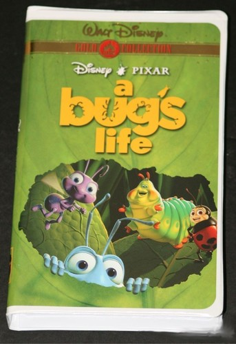 August 1  2000  A Bugs Life Vhs