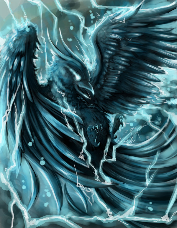 Mythological Creatures: Phoenix vs. Thunderbird - Enclave ... - photo#18