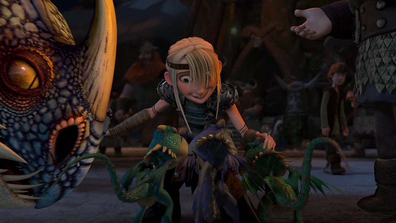 Gift Of The Night Fury Astrid Animation unplugged...: gift of the ... | 1280 x 720 jpeg 212kB
