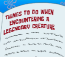 Things to Do When Encountering a Legendary Creature (transcript)