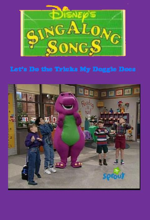 disney sing along songs lets do the tricks my doggie