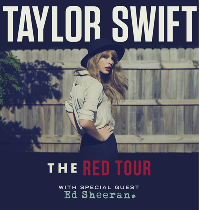 Red Tour Taylor Swift Setlist