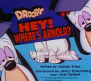 Droopy, Master Detective title cards