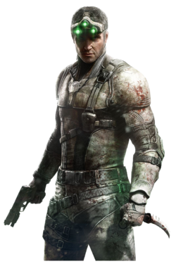 Sam Fisher Render SCBL