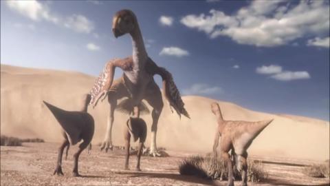 Image - Gigantoraptor-1.6-1.png - Planet Dinosaur Wiki