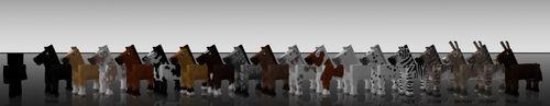 Mo Creatures Horses