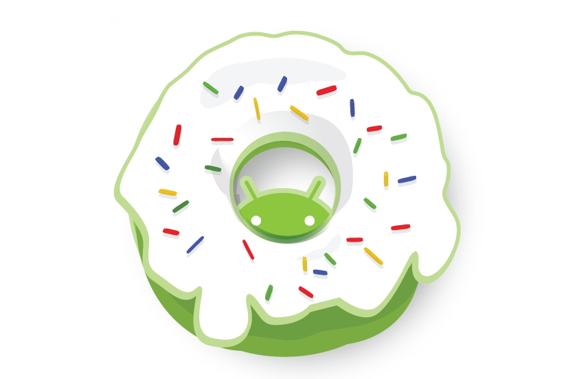 Android 1 6 Donut Logopedia The Logo And Branding Site
