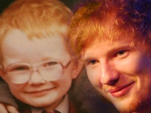 ed sheeran in the live room
