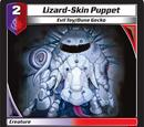 Lizard-Skin Puppet