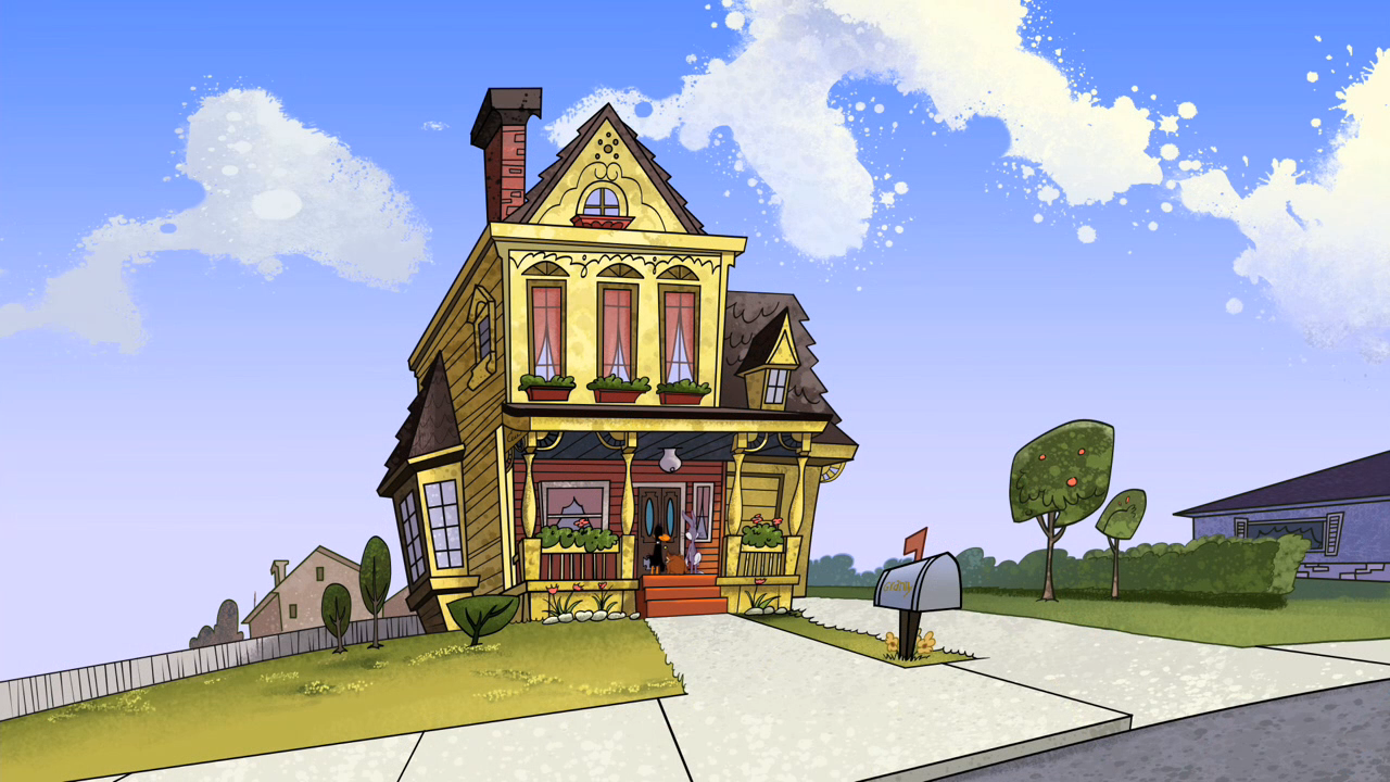 Granny 39 S Mansion The Looney Tunes Show Wiki The Looney