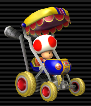 Image - BoosterSeat-Toad.png - Mario Kart Racing Wiki - Wikia