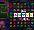 List of poker hands in Bejeweled 3