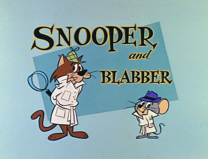 Snooper and Blabber on old cartoon network in 2007