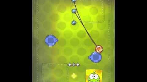 Cut the Rope 2-7 Walkthrough Fabric Box