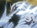Ryukotsusei defeated by the Backlash Wave.png