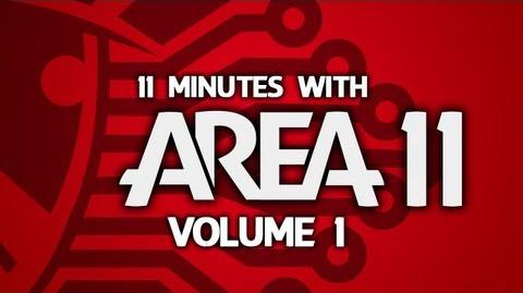 """11 Minutes With Area 11 - Volume 1 """"I Don't Spend Much Time Videoing Televisions"""""""