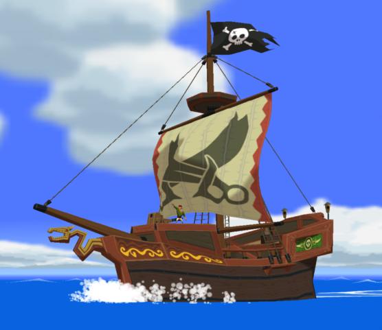 Bateau pirate zeldawiki - Image bateau pirate ...