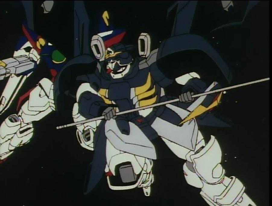 Gundam Wing Deathscythe Head Meets zero - gundam wiki