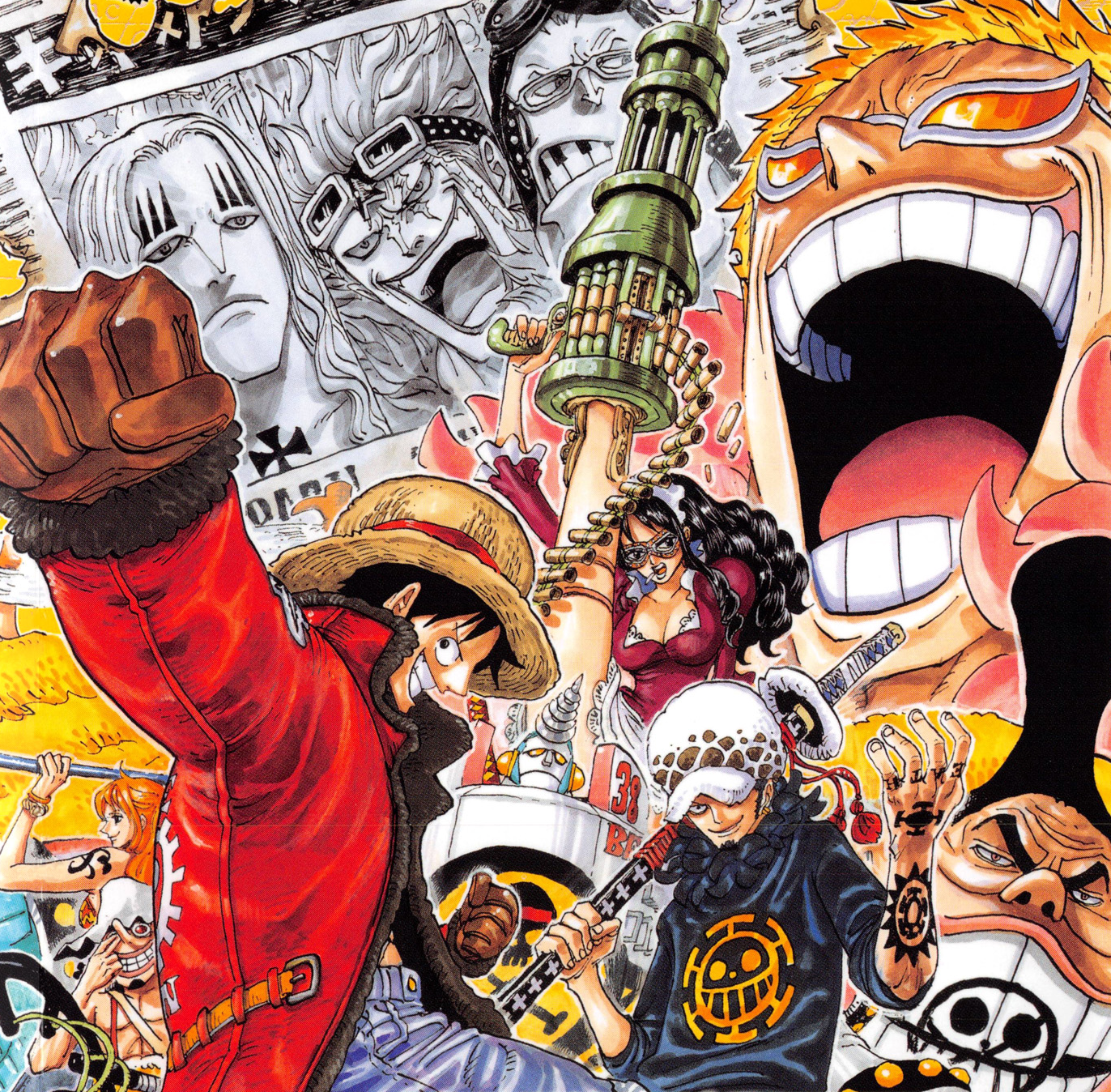 Current Power Levels Of Toriko/Naruto/One Piece Characters