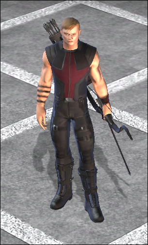 Hawkeye Movie Costume