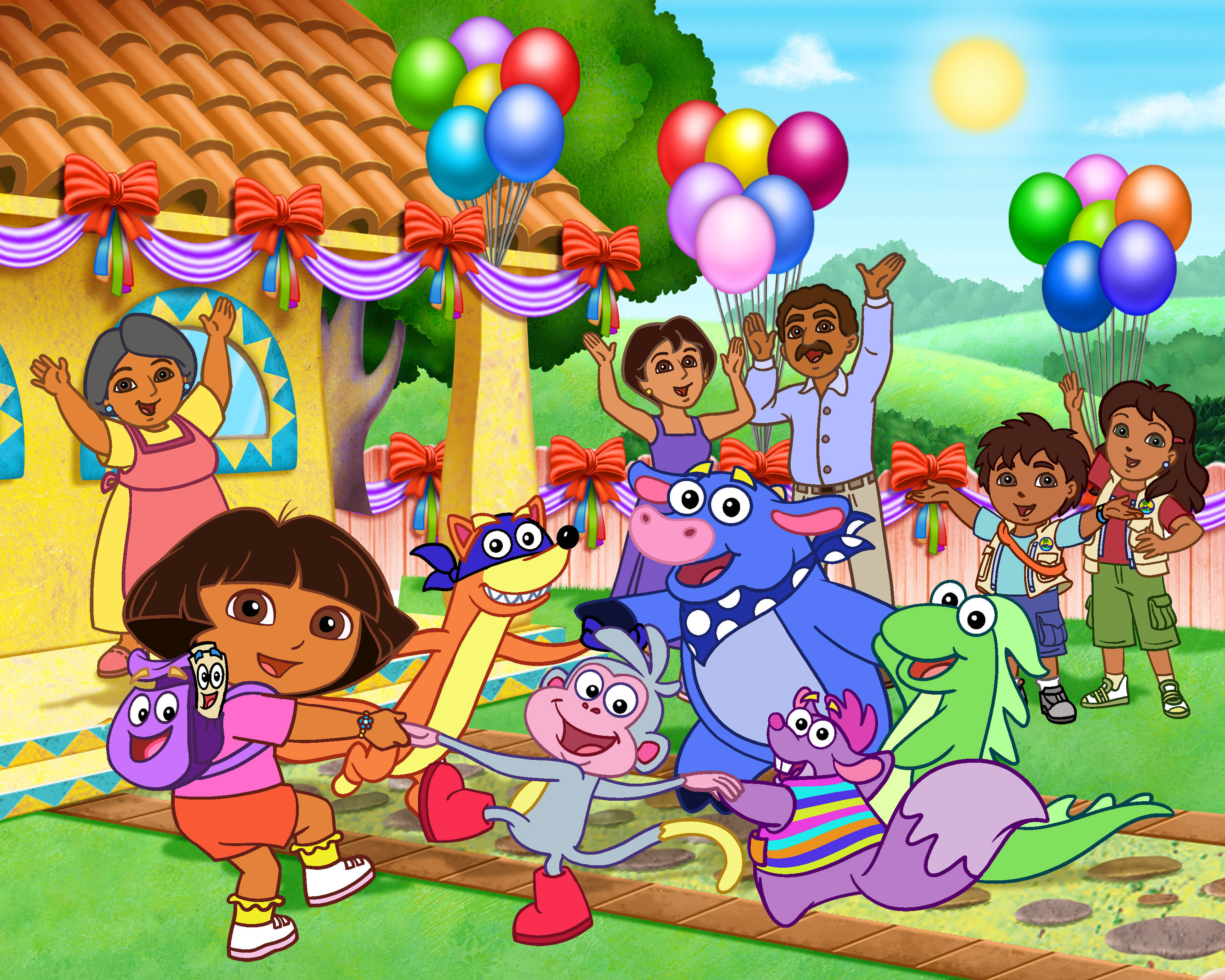 Dora Does Lots Of Exploring And Has Friends Sings A