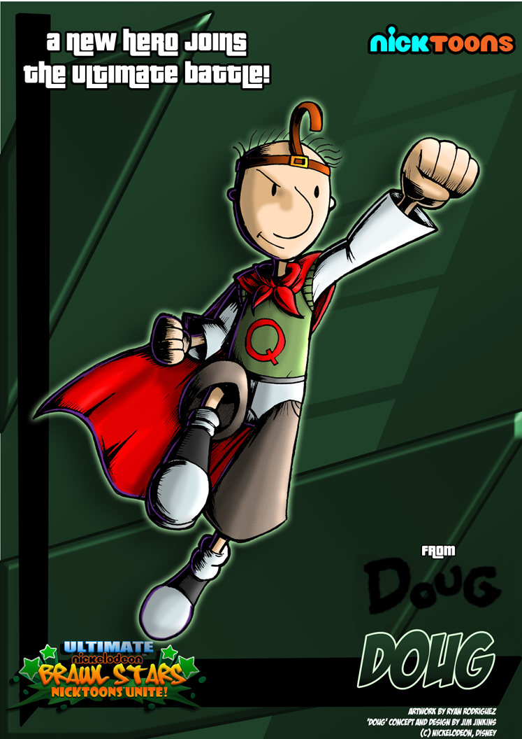 Doug Cartoon Skeeter - Viewing Gallery Quailman