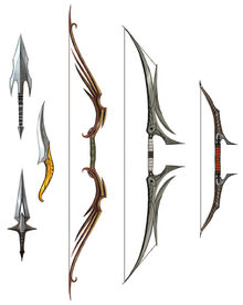 Selection of dalish weaponry 1