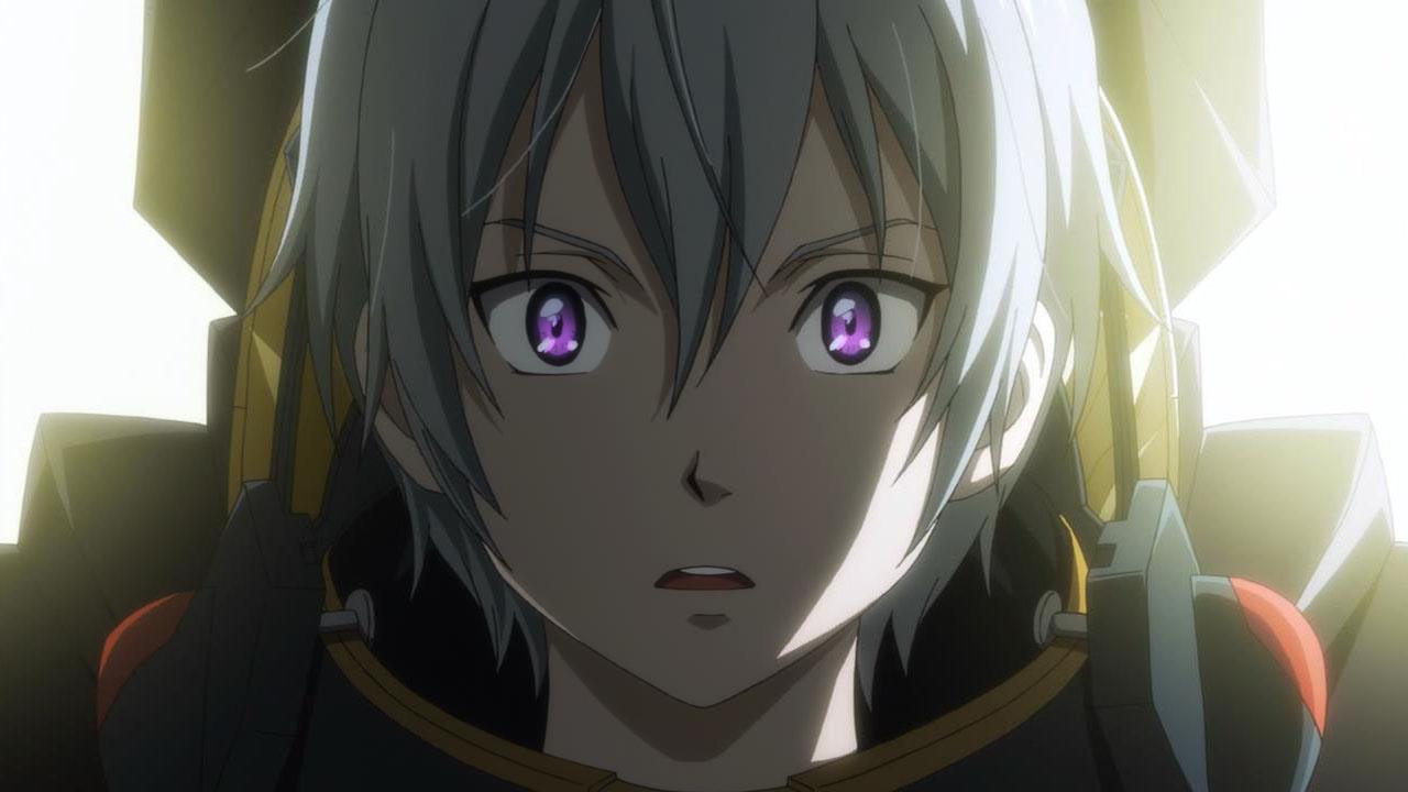 Adalah Karakter Utama Dari Anime Suisei No Gargantia Ledo Orang Yang Sangat Berhati Hati Selain Itu Dia Juga Cerdas