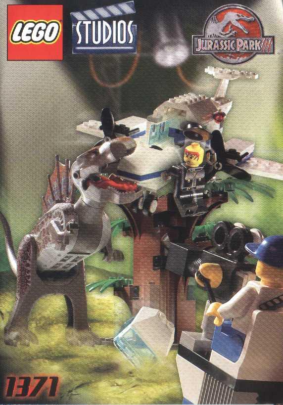 Lego 1371 spinosaurus attack studio park pedia jurassic park dinosaurs stephen spielberg - Lego dinosaurs spinosaurus ...