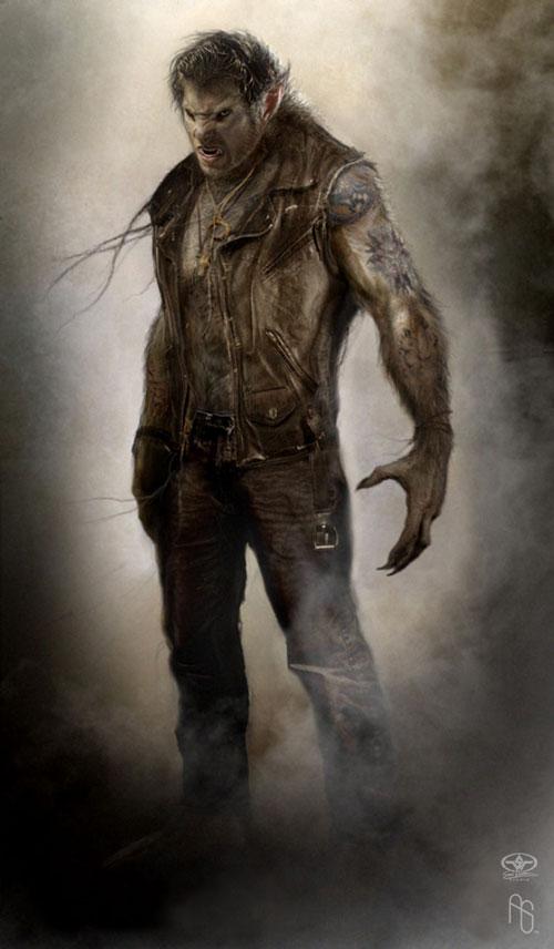 Half Human Half Wolf Male Werewolf - Oest...