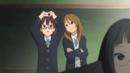 Nodoka and Himeko in the movie.png