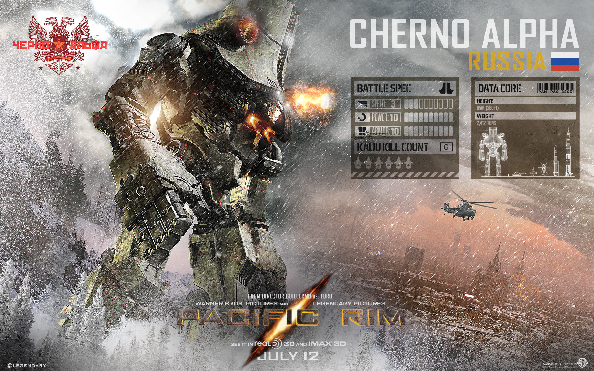 Cherno Alpha Jaeger Pacific Rim Wallpapers