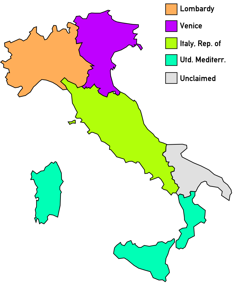 Italian Peninsula Map File Map of Italian Peninsula