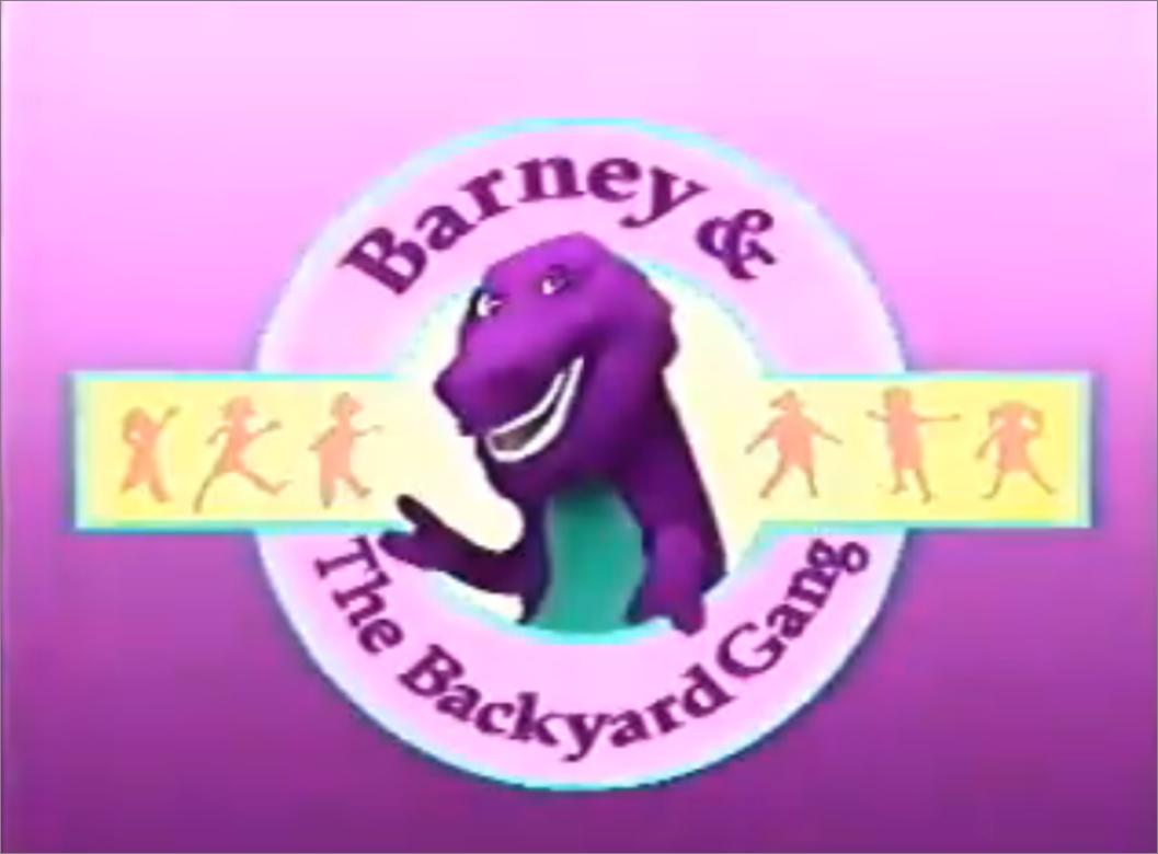The barney and the backyard gang logo