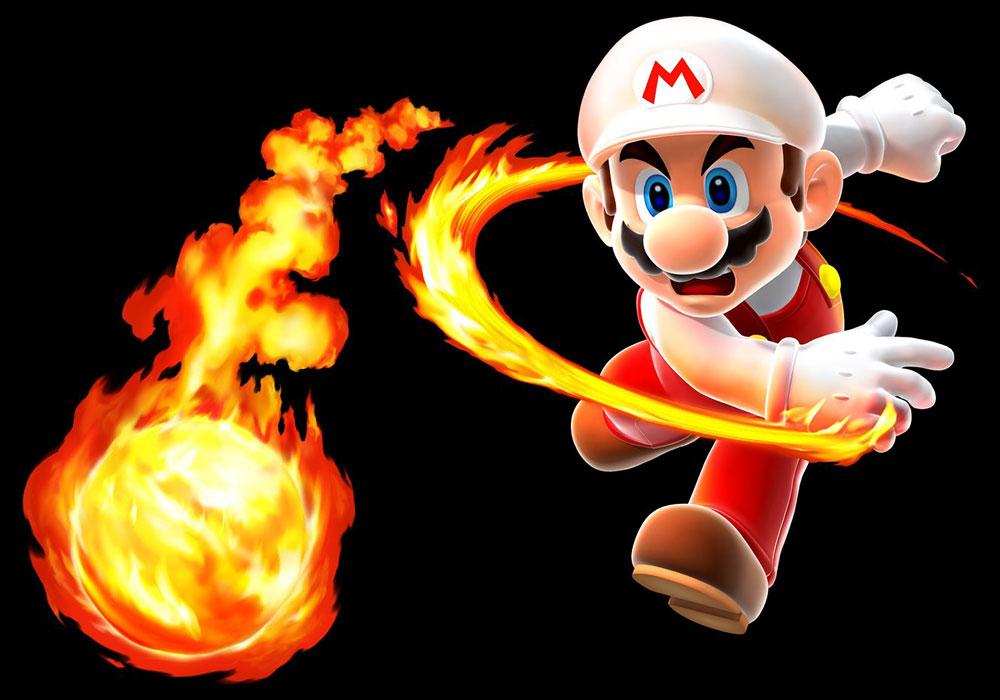 Fireball Mario Fire
