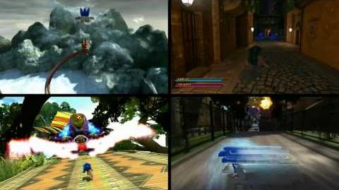 E3 2008/Sonic Unleashed