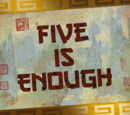 Five is Enough