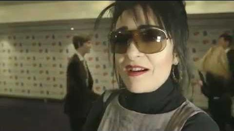 Siouxsie Sioux at the Ivor Novello Awards 2012