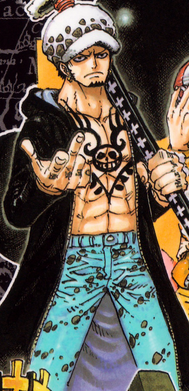 Trafalgar D. Water Law Manga Post Timeskip Infobox