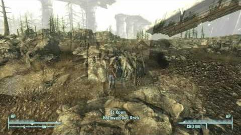 Fallout 3 - Hollowed-Out Rock