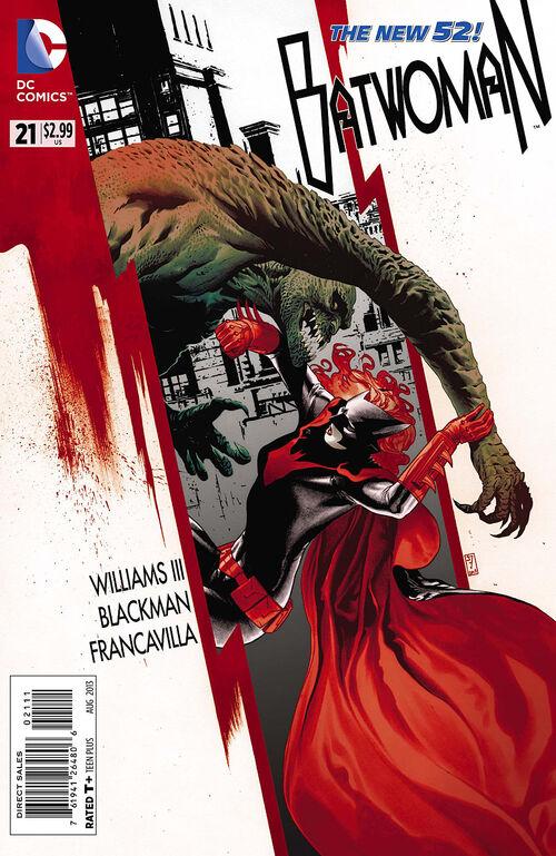 Batwoman New 52 Vol 2 Batwoman Vol 2 21 dc Comics