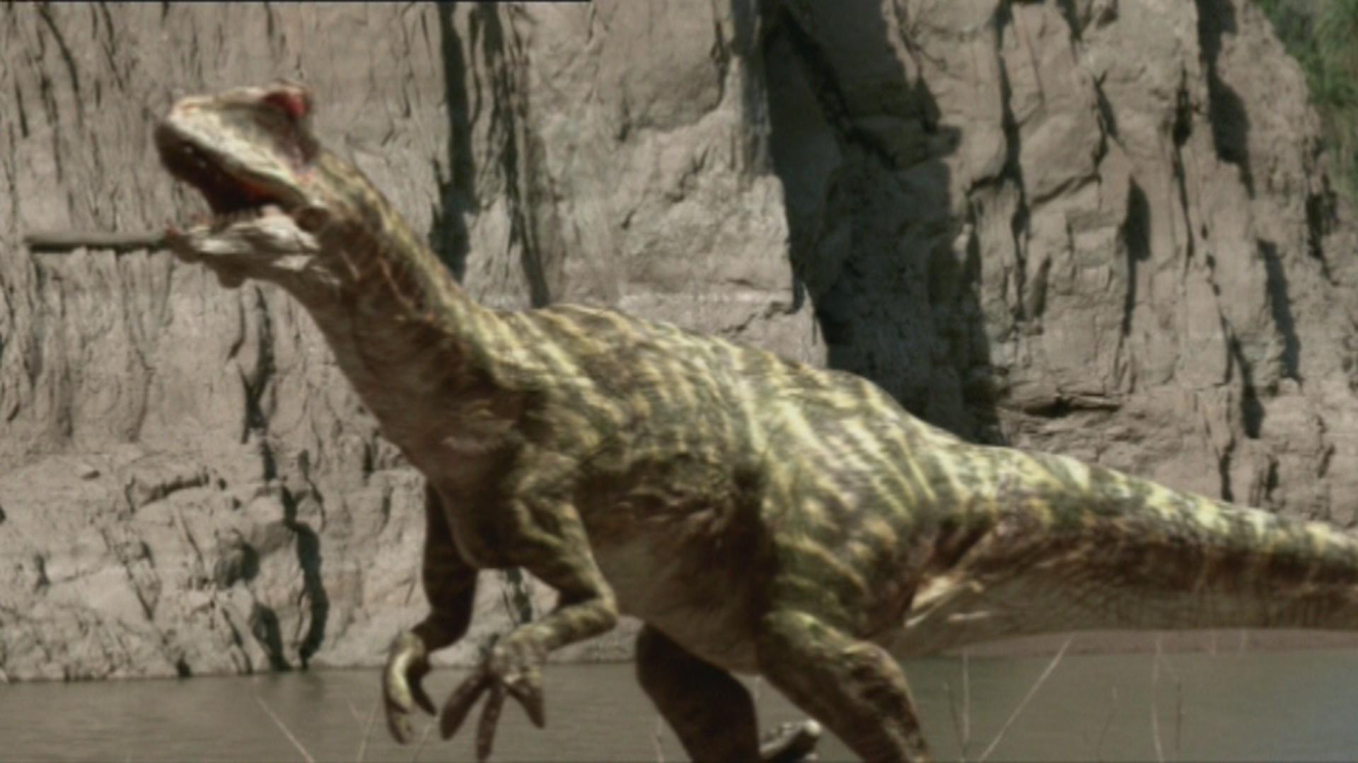 Jurassic park herrerasaurus toy
