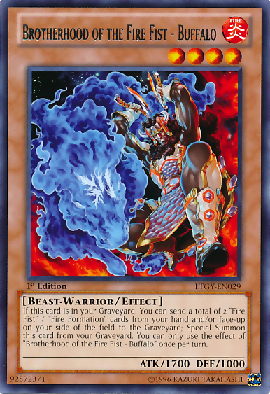 Yugioh fire fist deck list
