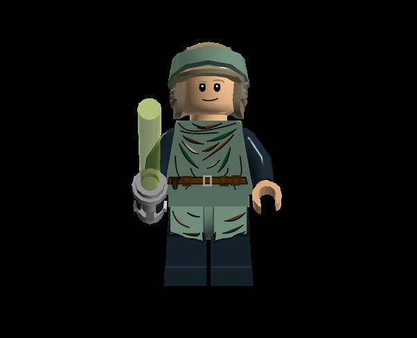 Luke Skywalker (Endor) - Lego Star Wars Wiki - Lego, Star Wars, toys, and more